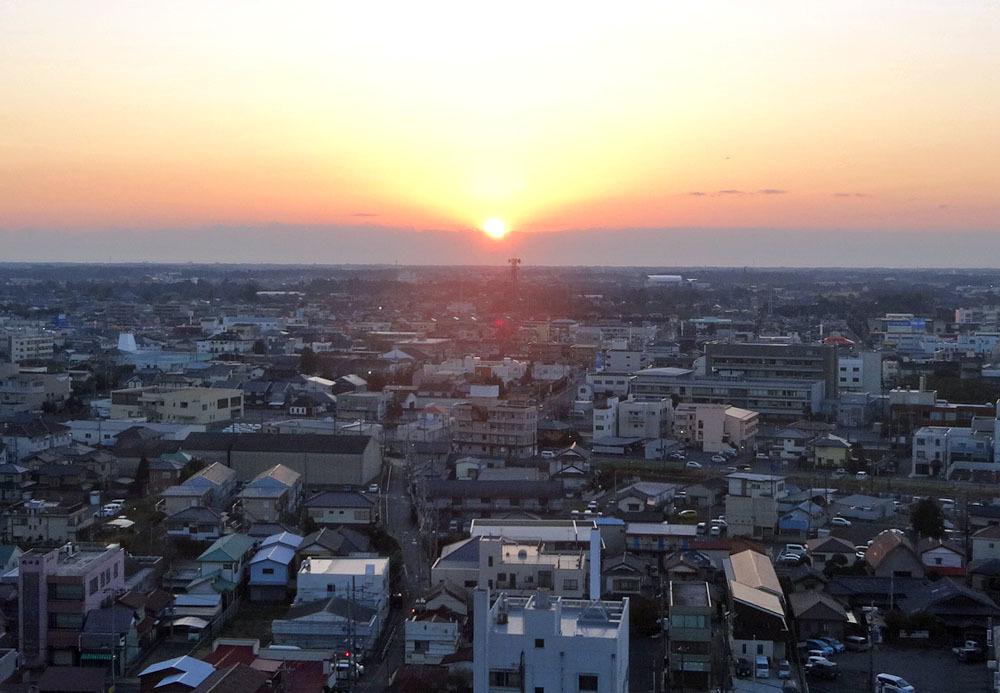 東金、折々の風景(4)  山王台の日の出_b0114798_16284686.jpg