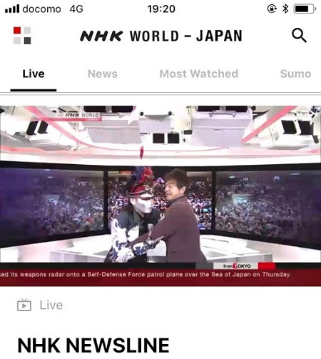 デーモン閣下ご出演 NHK World TV `Looking Back, Looking Ahead`2018年_b0114515_00193508.jpg