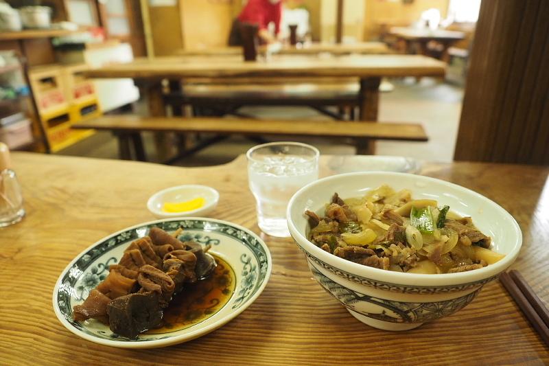 【関東煮と肉どんぶり】大衆食堂 稲田屋  @福山_b0008655_21553453.jpg