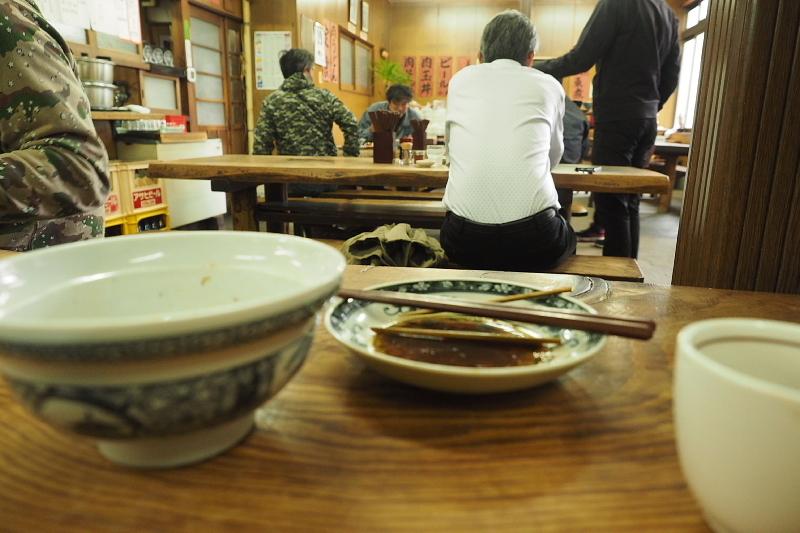 【関東煮と肉どんぶり】大衆食堂 稲田屋  @福山_b0008655_22055906.jpg