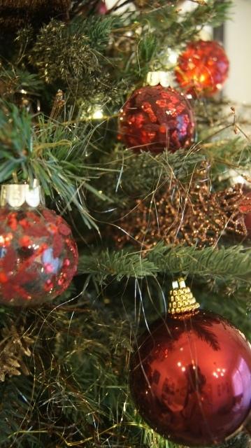 お客様オーダーアンティーク調クリスマスツリー完成致しました~❤_f0029571_14343522.jpg