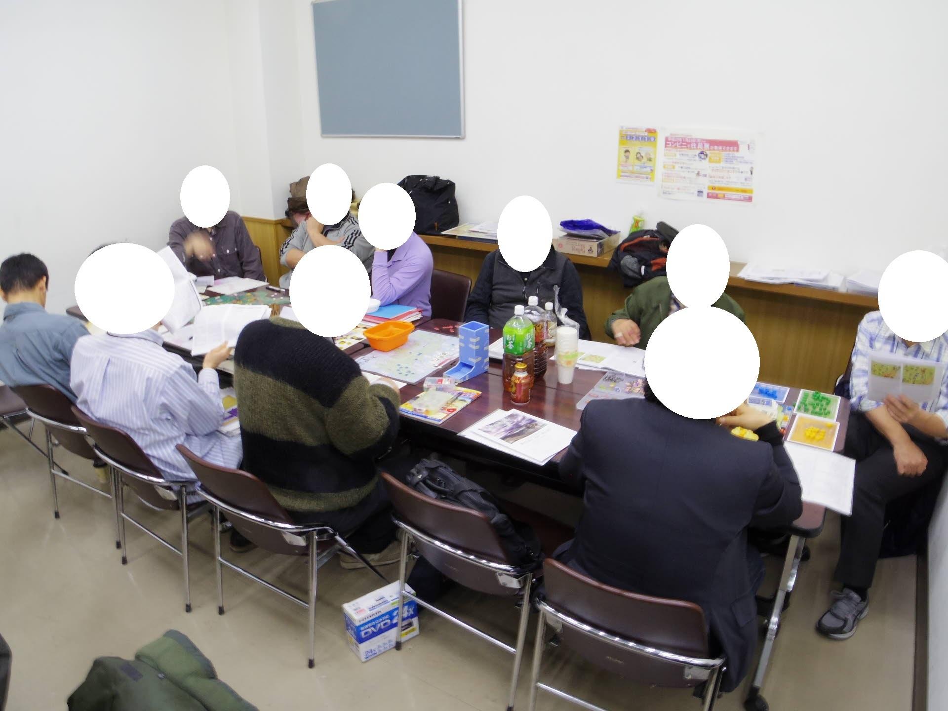 2018.12.22(土)2018年、平成最後のYSGA忘年会待機ゲーム集会その1...例会風景_b0173672_22163693.jpg