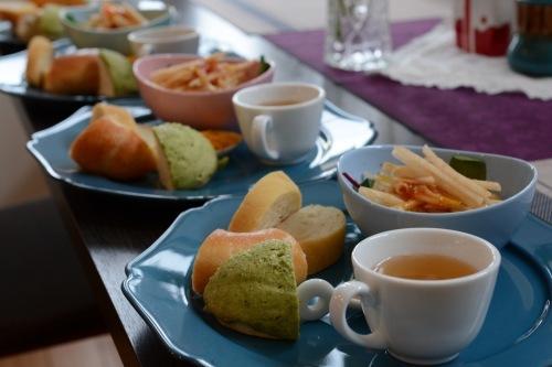 自家製酵母でプレーンベーグル、チャバタ、抹茶メロンパン_f0329586_19242644.jpg