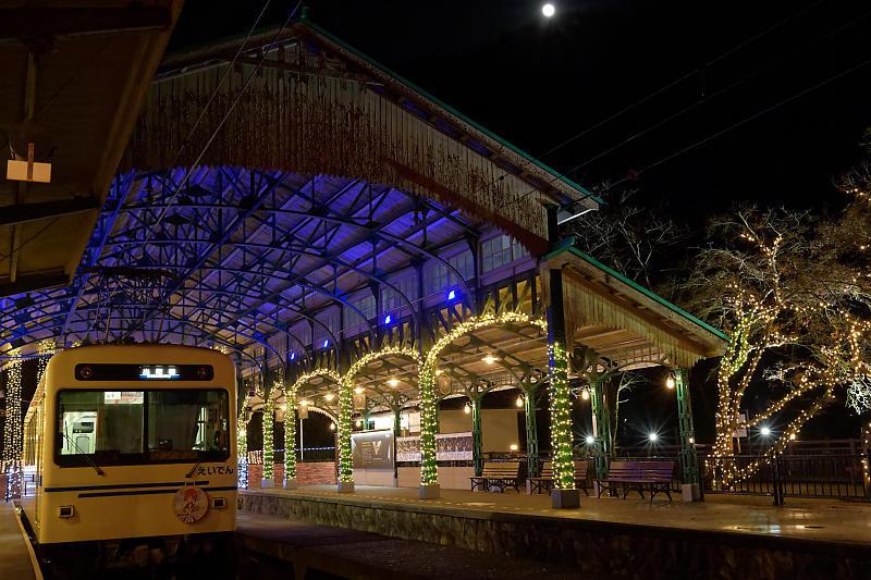 Illumi-station(イルミステーション)@叡電八瀬比叡山口駅_f0032011_15374891.jpg