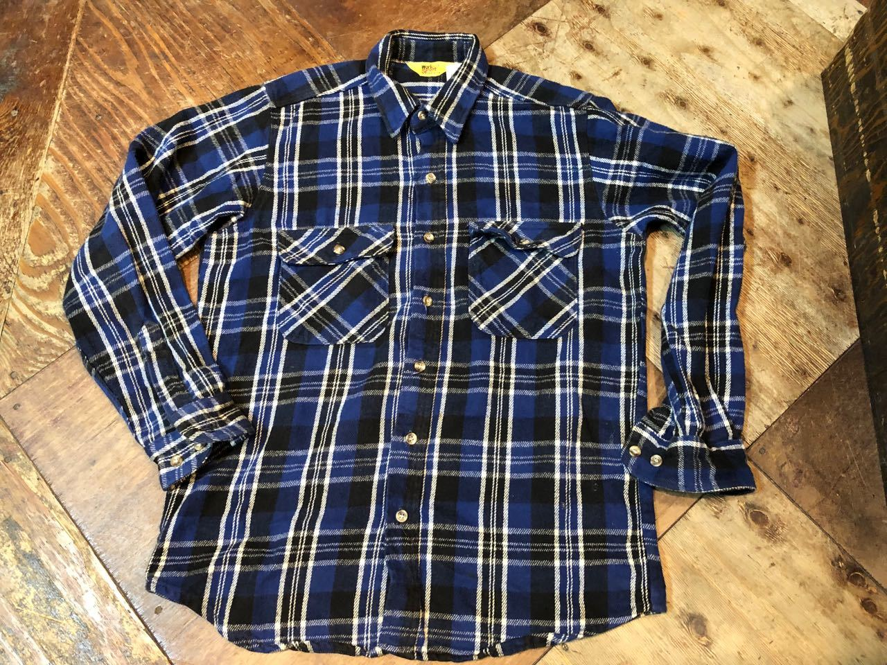 12/24入荷!80s WORK SPOT MADE IN U.S.A ヘビーネルシャツ! _c0144020_18513515.jpg