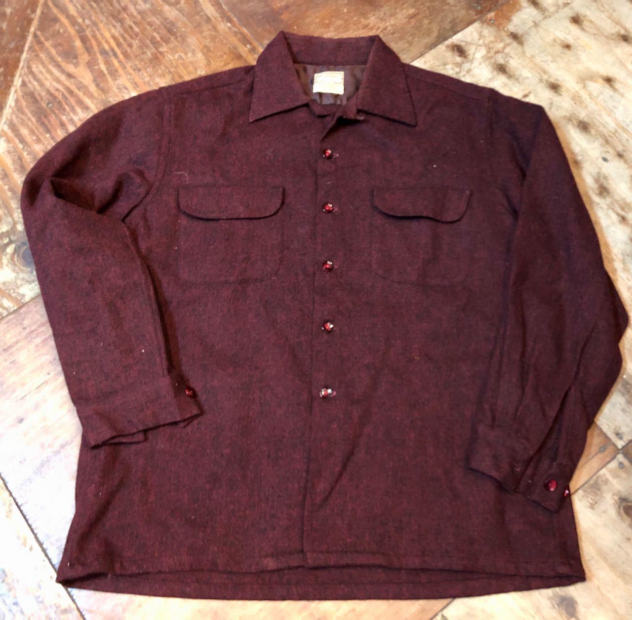 12/24(月)入荷! 50s〜マクレガー オープンカラー ウールシャツ!_c0144020_18581693.jpg