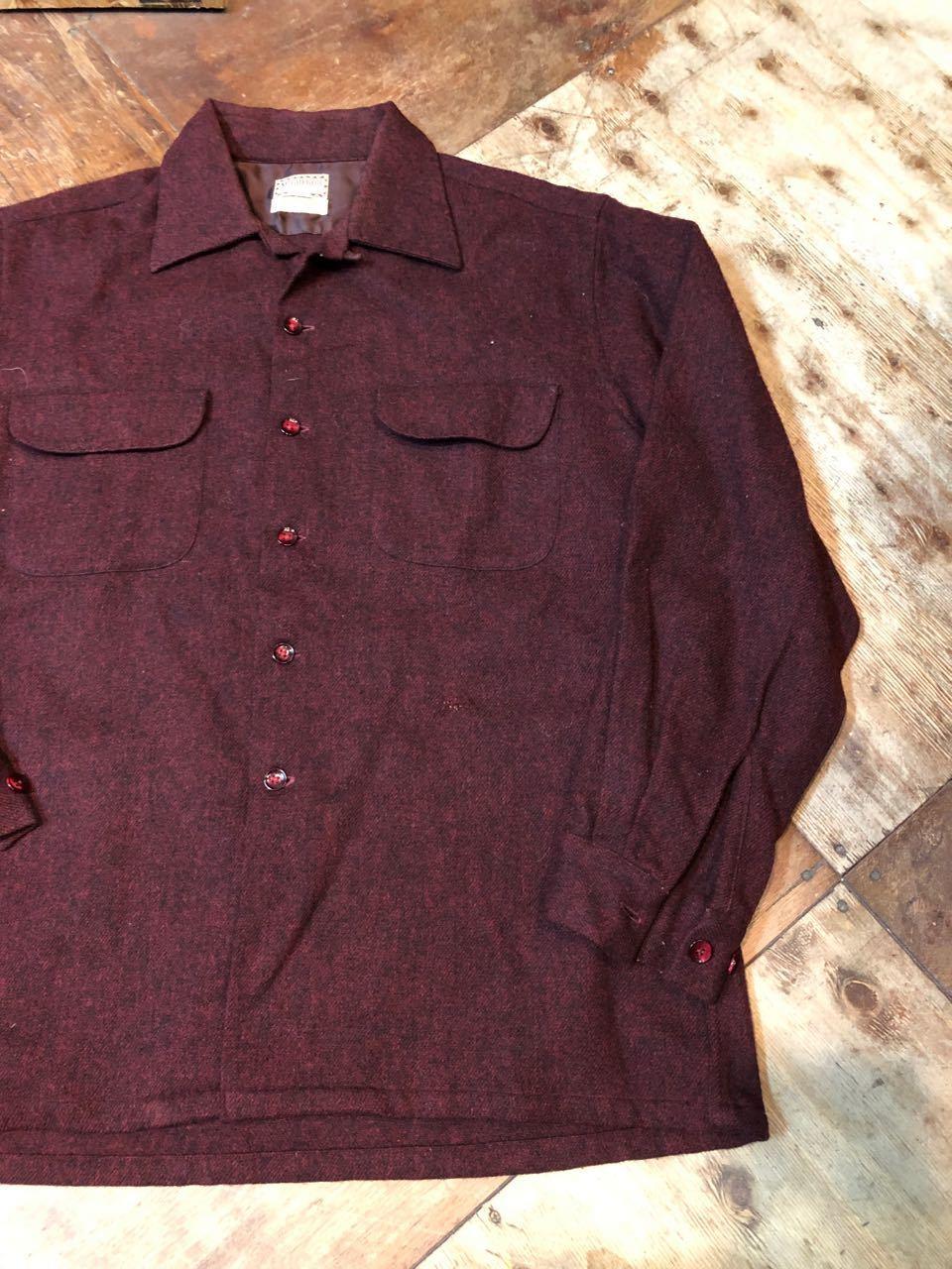 12/24(月)入荷! 50s〜マクレガー オープンカラー ウールシャツ!_c0144020_18581899.jpg