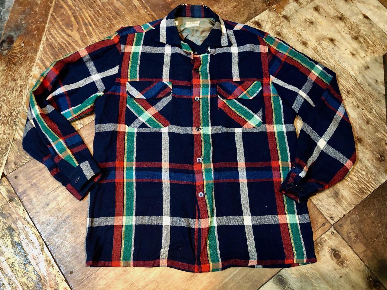 12/24(月)入荷! 50s〜マクレガー オープンカラー ウールシャツ!_c0144020_19044256.jpg