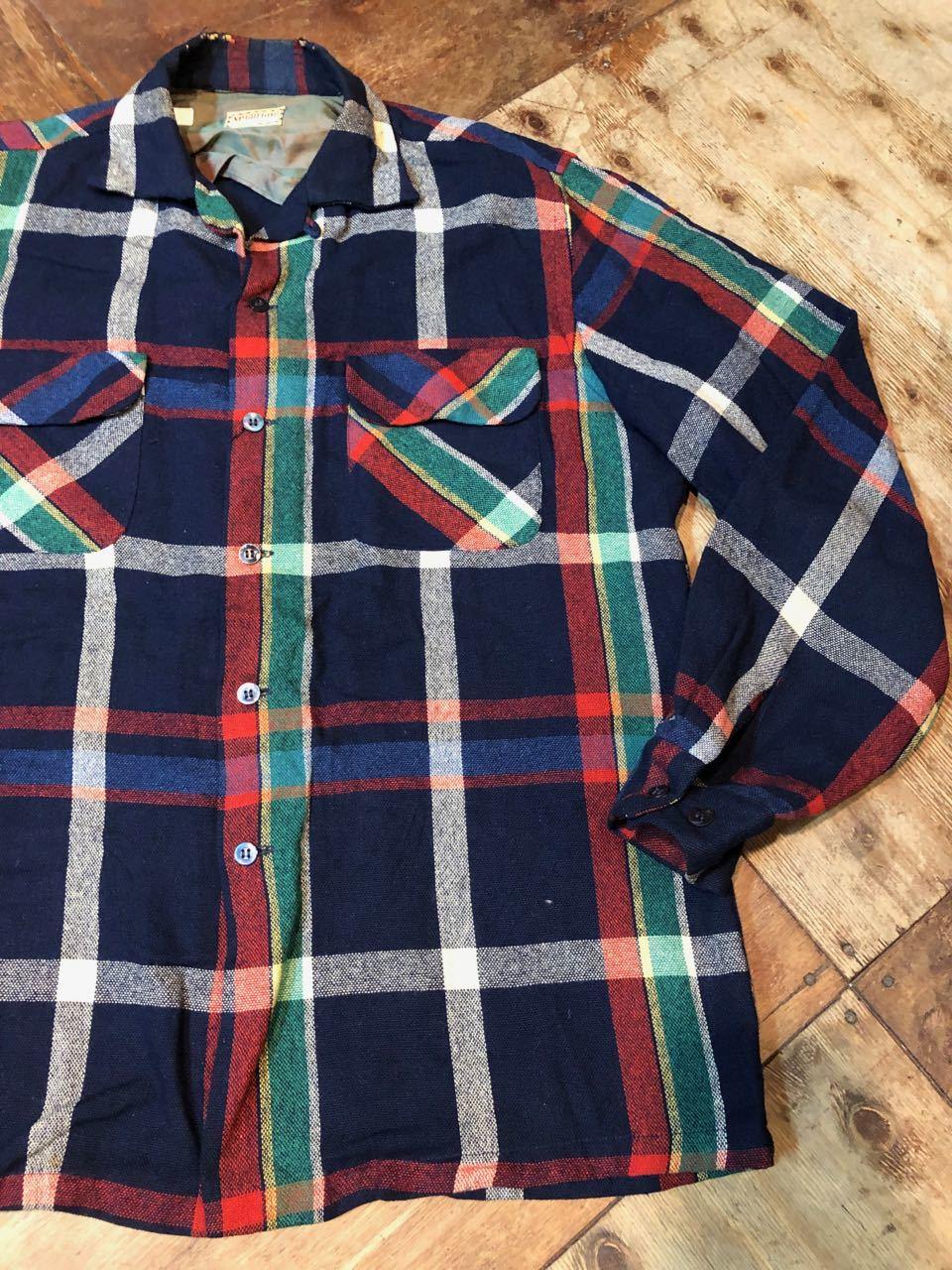 12/24(月)入荷! 50s〜マクレガー オープンカラー ウールシャツ!_c0144020_19061441.jpg
