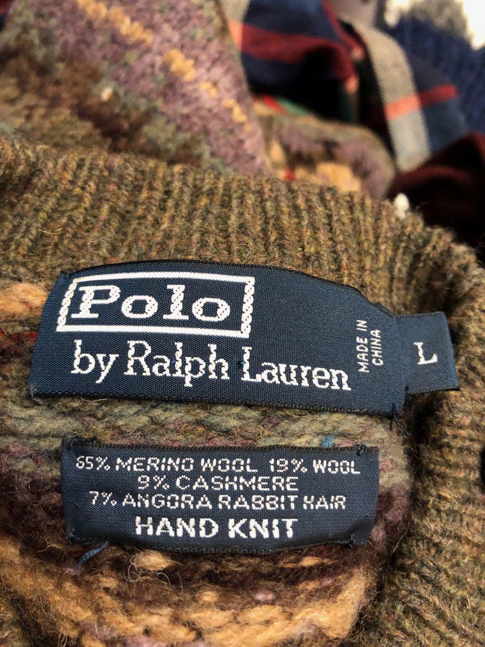 12/24(月)入荷! ラルフローレン 手編み HAND KNIT セーター_c0144020_19122903.jpg