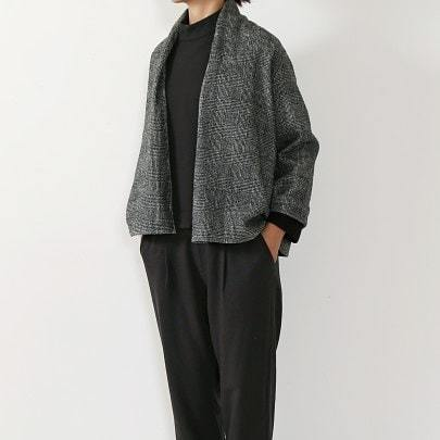 wool stand collar square pullover_f0120026_15324802.jpg