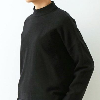 wool stand collar square pullover_f0120026_15324831.jpg