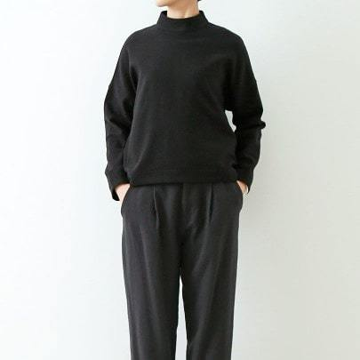 wool stand collar square pullover_f0120026_15324842.jpg