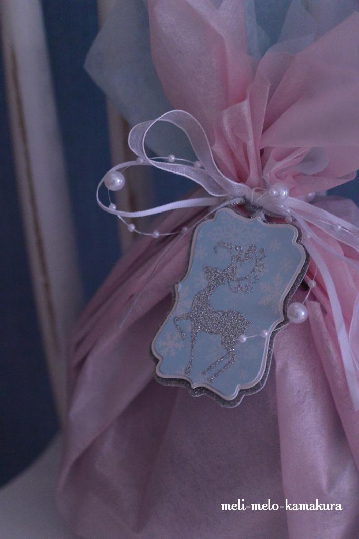 ◆ラッピング*娘のプレゼント交換用・バレエの衣装みたいなギフト♪_f0251032_11342798.jpg