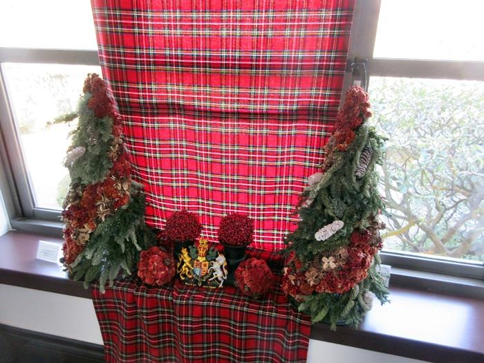 【世界のクリスマス2018】イギリス館はスコットランド【山手西洋館】_b0009849_11251033.jpg