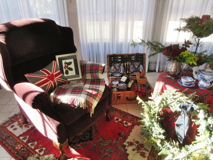 【世界のクリスマス2018】イギリス館はスコットランド【山手西洋館】_b0009849_11292315.jpg