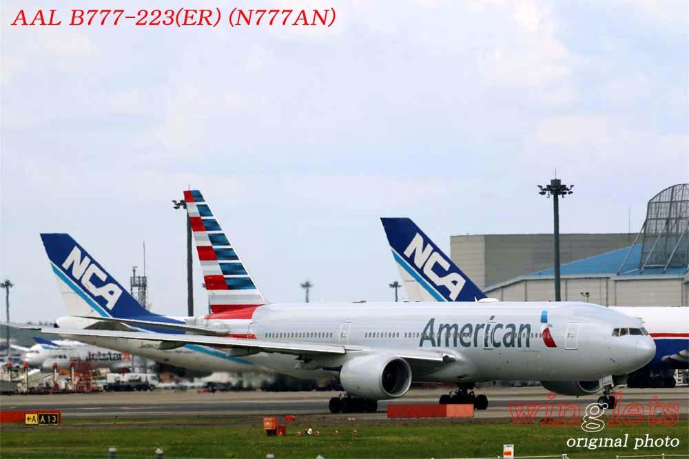 '18年 成田空港レポート ・・・ AAL/N777AN_f0352866_22163633.jpg