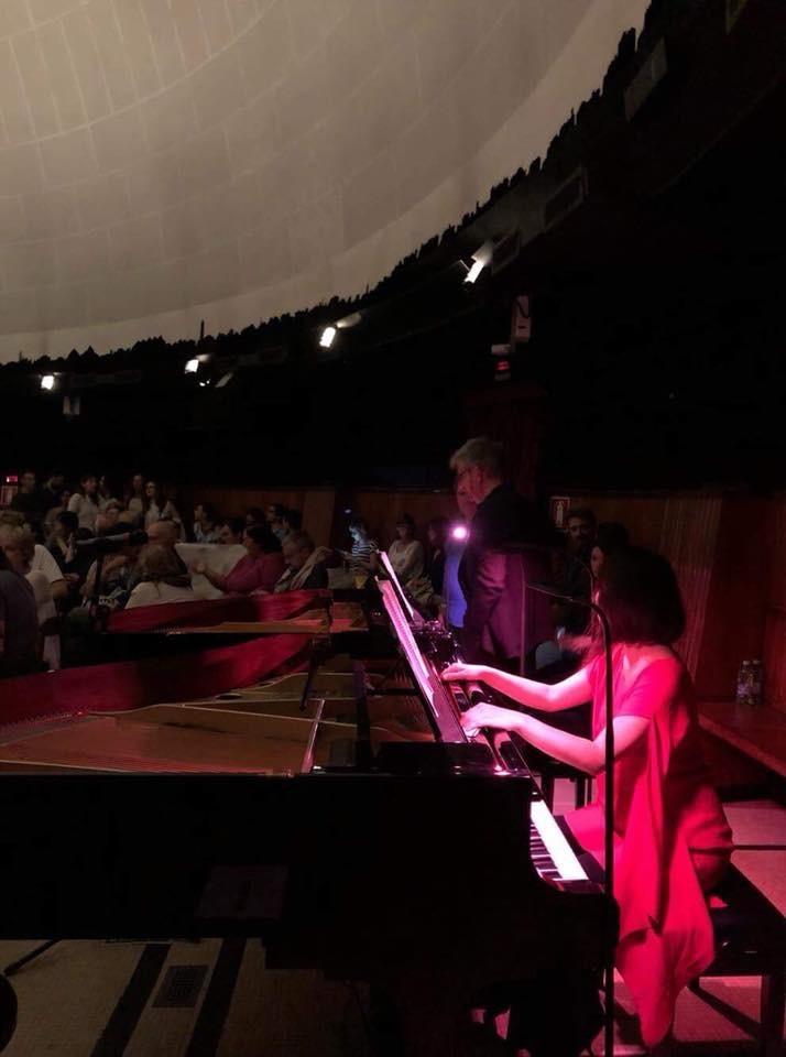 ミラノのプラネタリウムで二台ピアノ版「惑星」_e0056670_17490869.jpeg