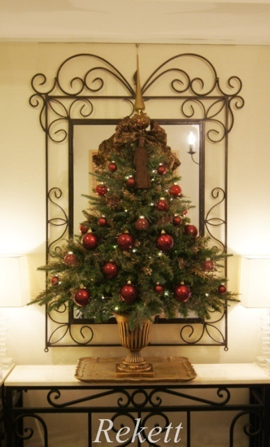 お客様オーダーアンティーク調クリスマスツリー完成致しました~❤_f0029571_04022578.jpg