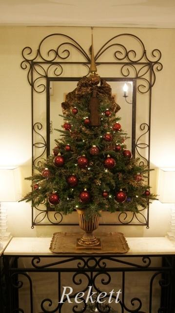 お客様オーダーアンティーク調クリスマスツリー完成致しました~❤_f0029571_04032928.jpg