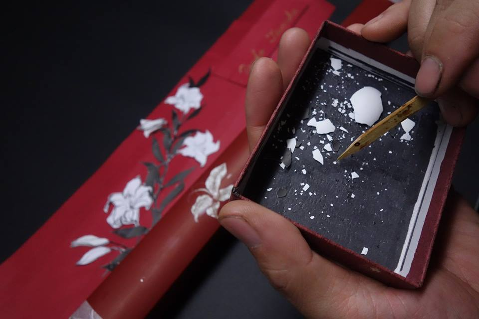 田中祐子さんの指揮棒ケース「卵殻編」2018.12.23_c0213599_17272629.jpg