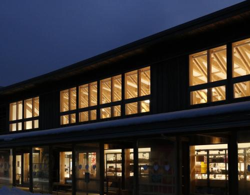 二ツ井道の駅:夜景_e0054299_00163191.jpg
