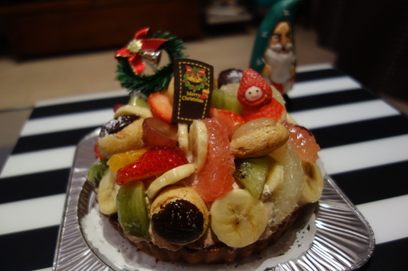 STYLE\'S CAKES & Coさんのクリスマスケーキ_e0230011_18440274.jpg