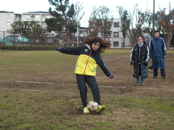 4年生 親子サッカー対決_a0109316_18042591.jpg