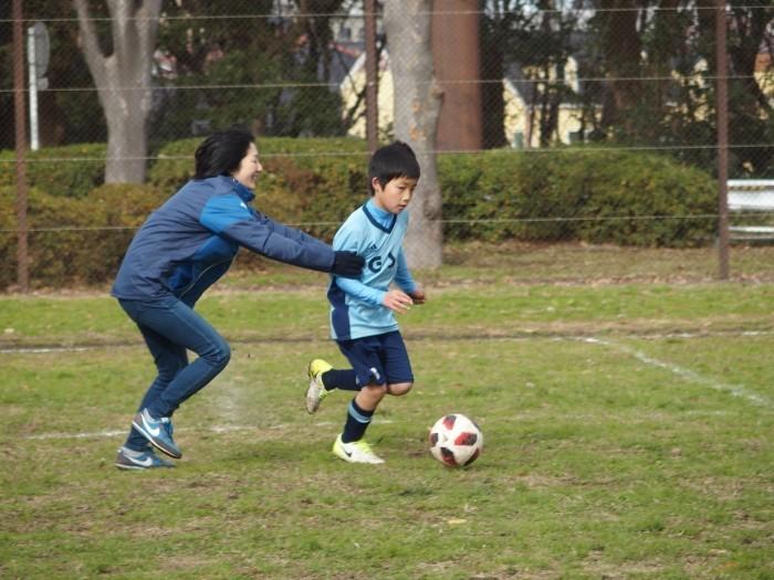 4年生 親子サッカー対決_a0109316_18045789.jpg