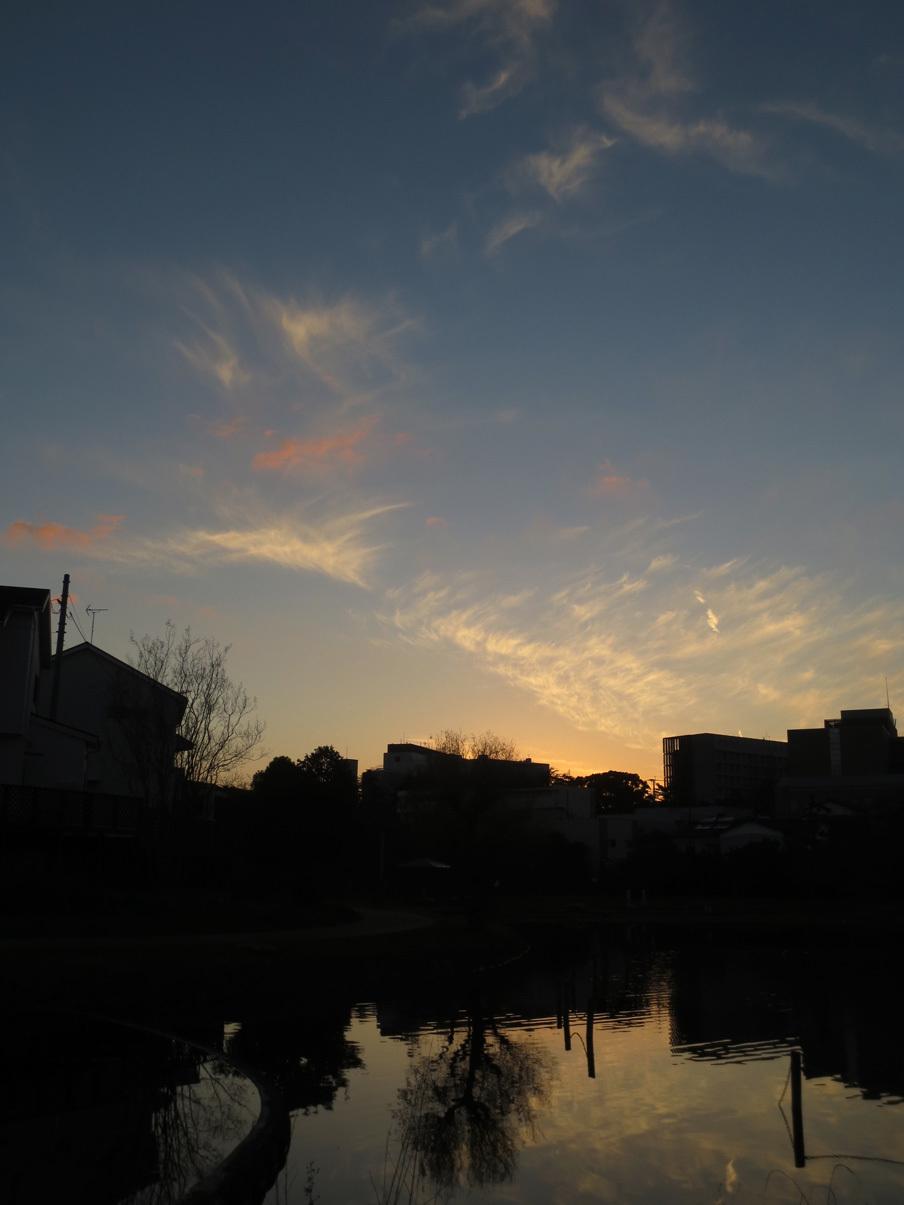 ■24日、何かが降りてくる宵――週替わりの夕暮れ[12/24]_d0190217_22230855.jpg