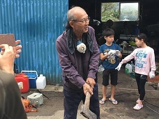 第6回 くんじゃん山学校「炭焼き体験」_f0121321_10581777.jpg