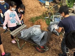 第6回 くんじゃん山学校「炭焼き体験」_f0121321_11064236.jpg