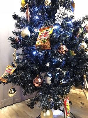 クリスマスツリーが今日は変身_c0369433_10450723.jpg