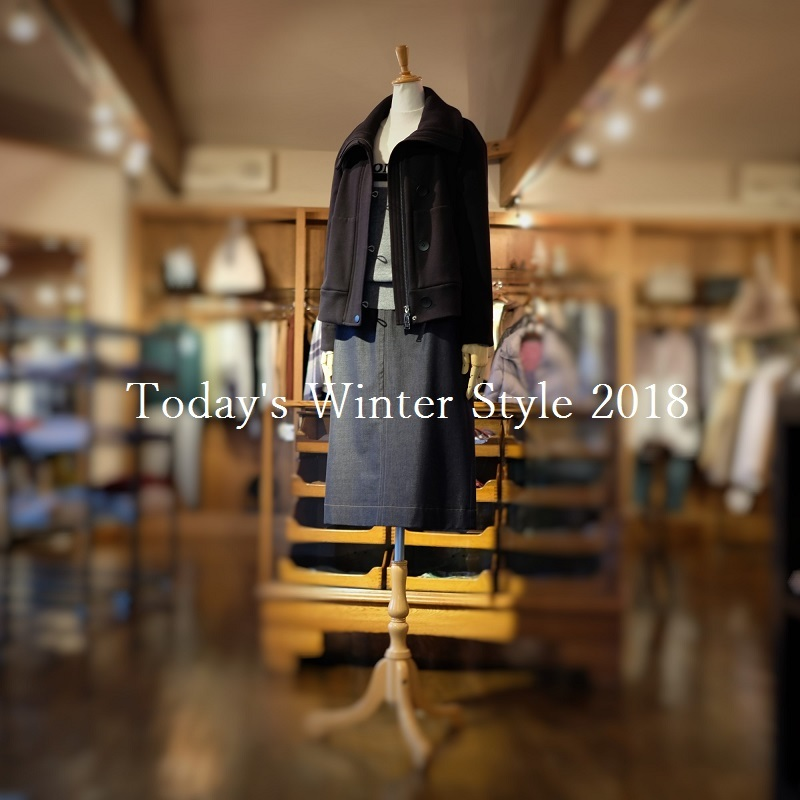 """Today\'s Winter Style 2018...12/24mon\""_d0153941_17310556.jpg"