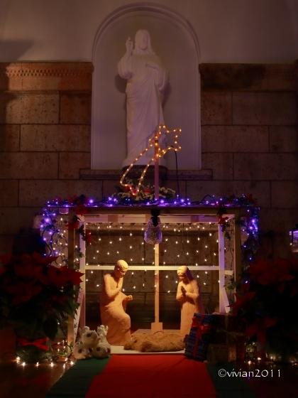 クリスマスミサ in カトリック松が峰教会_e0227942_22352663.jpg