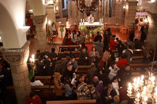 クリスマスミサ in カトリック松が峰教会_e0227942_22503004.jpg