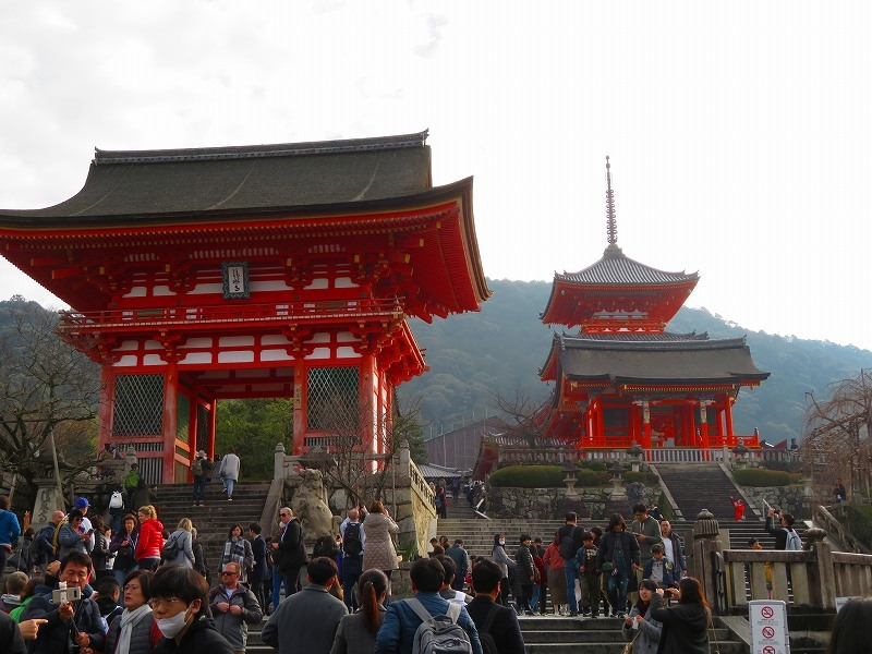 「清水寺」は今日も賑やか0181223_e0237645_21383085.jpg