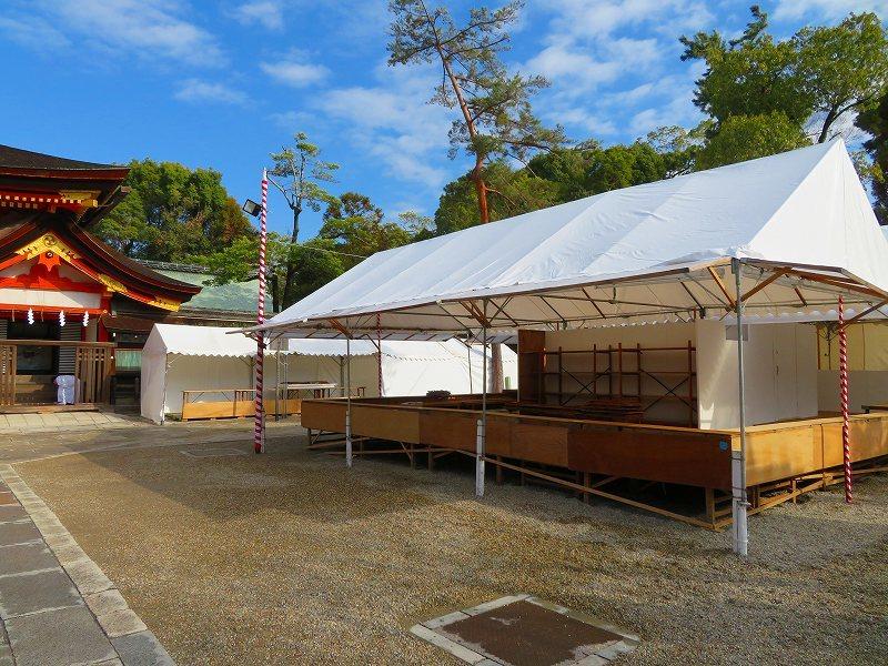 八坂神社は正月準備20181223_e0237645_23542148.jpg