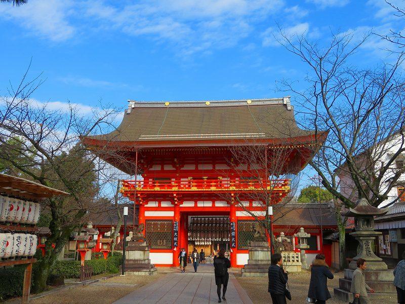 八坂神社は正月準備20181223_e0237645_23542177.jpg