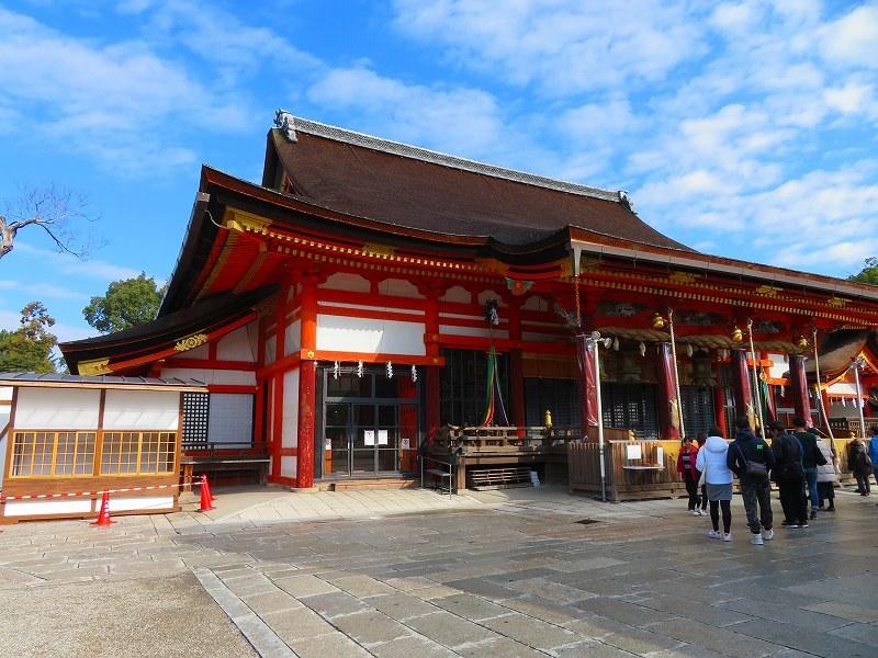 八坂神社は正月準備20181223_e0237645_23542292.jpg