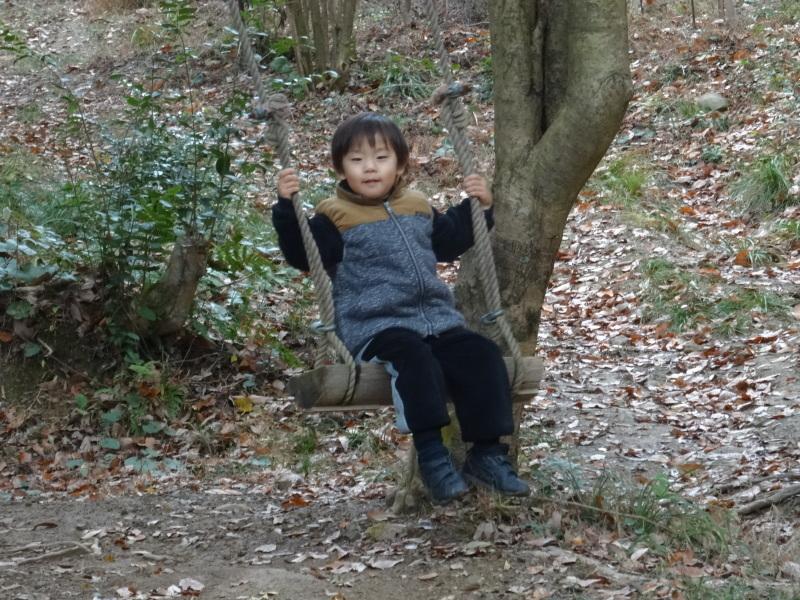 孝子の森で「里山クリスマス」(ピザ職人体験&ケーキつくり)_c0108460_19550378.jpg