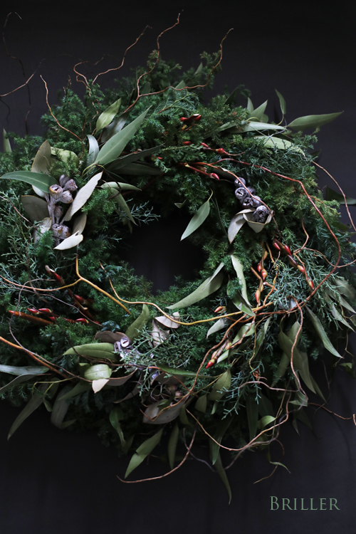 Christmas Wreath  2018 ♪_d0113182_13222619.jpg