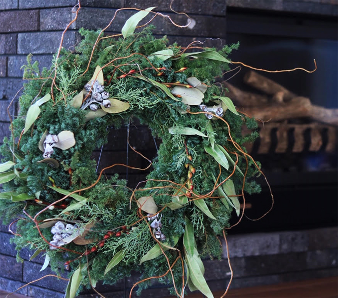 Christmas Wreath  2018 ♪_d0113182_1323434.jpg