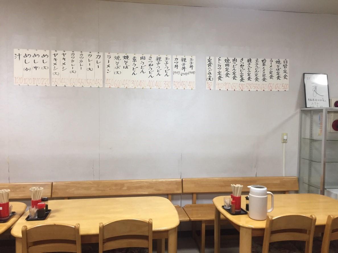 ますこ食堂 日替定食_e0115904_23491549.jpg