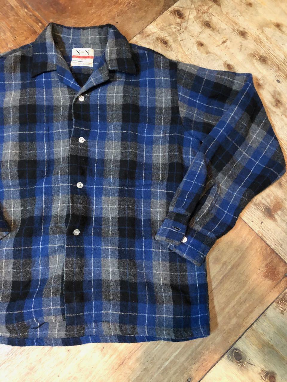 12月26日(水)入荷!60s ボックス、オープンカラー wool shirts!_c0144020_19360997.jpg