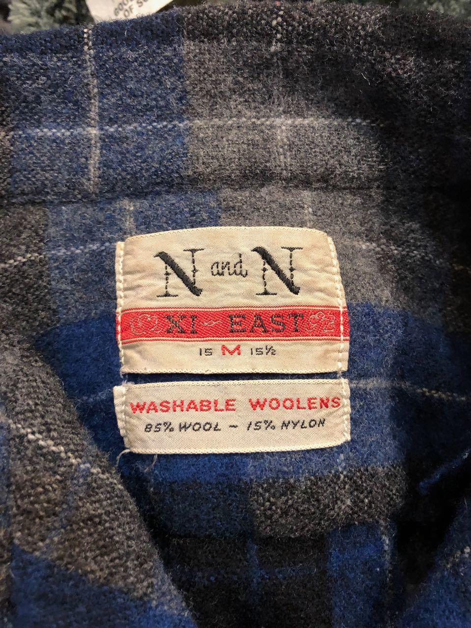 12月26日(水)入荷!60s ボックス、オープンカラー wool shirts!_c0144020_19361136.jpg