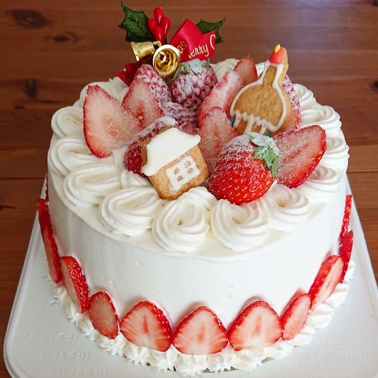 クリスマスケーキ最終日🎂_a0113430_11080327.jpg