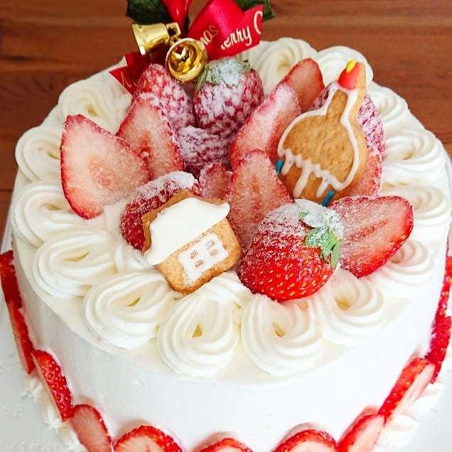 クリスマスケーキ最終日🎂_a0113430_11081137.jpg
