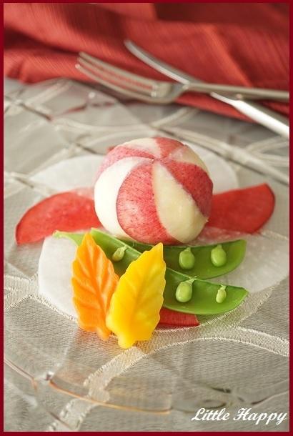 クリスマスに♪オーナメント風ポテサラ(レシピ)_d0269651_17551812.jpg