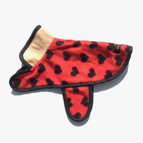 ILKARE Dog Jacket イルカレ ドッグジャケット ハート_d0217958_17165436.jpg
